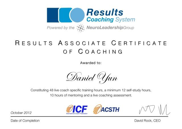 RACC Certificate