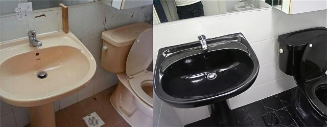 Refurbished Toilet